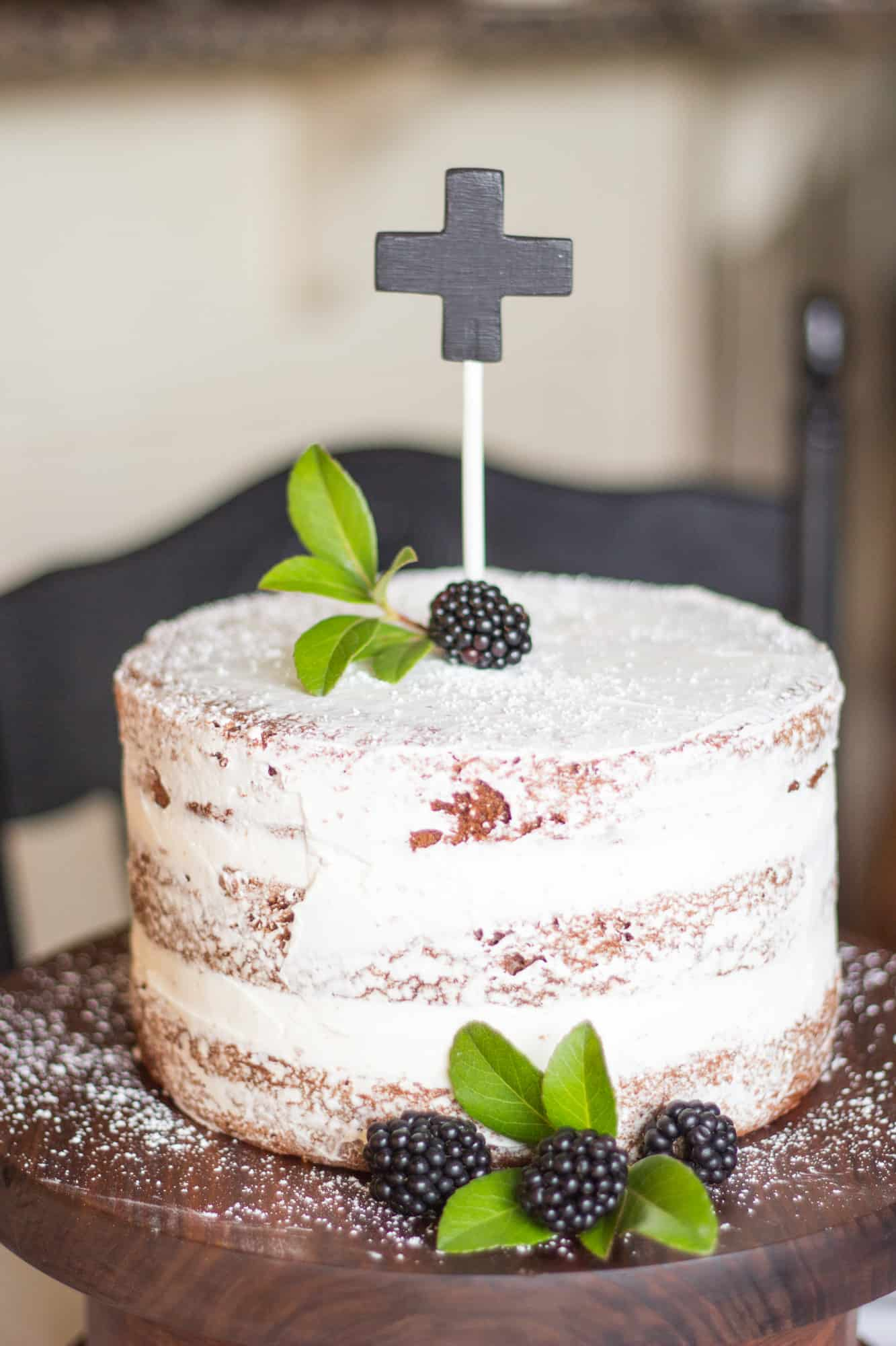 The Naked Cake: My Red Velvet & Vanilla Cake with Whipped Cream Cheese Frosting   Kimbrough Daniels