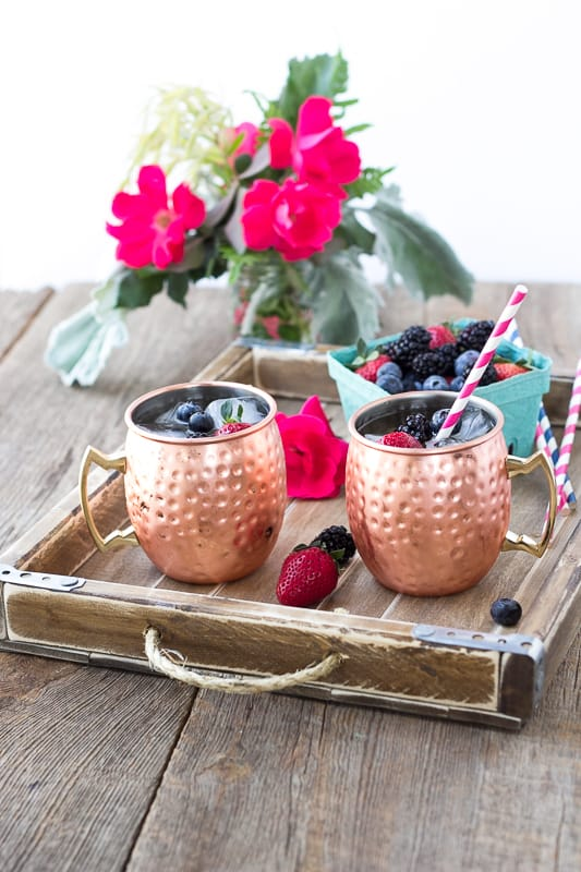 Spring Berry Moscow Mule